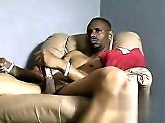 Homosexuell Video- Hung Bi Guy Dees bekommt Keulen