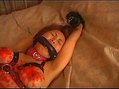 Bondage Japanese wax torture