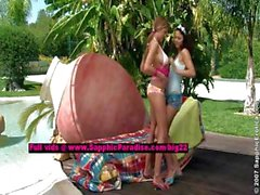 Billy and Jaquelin lesbo girls undressing