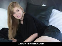 DaughterSwap Gothic Sluts Fucked By BFFS dad part 1