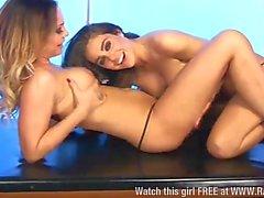 Cali Garcia & Lori Buckby lesbian fun pt2