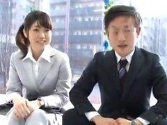 Asian Teen bläst Japanisch