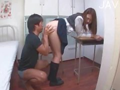 Her feet in pantyhose make his cock hard 03