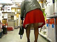 winkelen in supermarkt