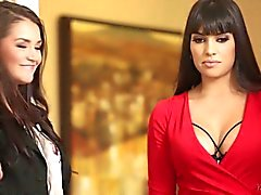 Allie Haze And Mercedes Carrera Hot Girls