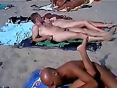 Sex in der FKK Strand