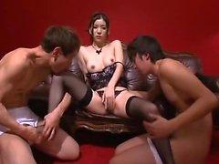 Stunning Asian babe with a perfect ass Yuria Ashina gets nailed hard