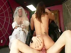WEDDING BELLS GANGBANG 3 - Scene 3