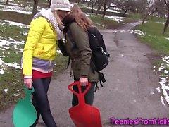 Dutch teen lesbo cuties