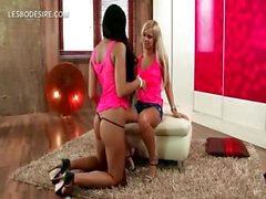 Lesbian teen sex with blonde and brunette hotties