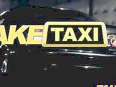 FakeTaxi - Big titty blonde tricked into sex