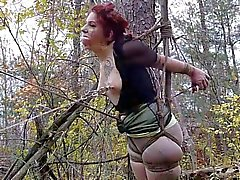 TIED in the woods