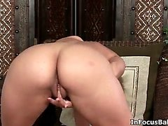 Sexy blonde babe gets horny fingering part6