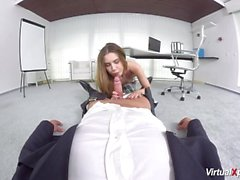 POV con sesso cute studentessa