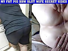 fat pig bbw slut wife secret video