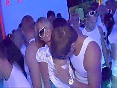 Teufels Geschlecht in einem Nachtclub