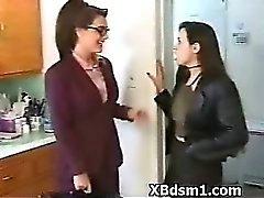 Arrogant BDSM Mature Fetish Play