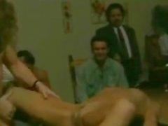 Weinlese Sex Party verdammtes und Spaß