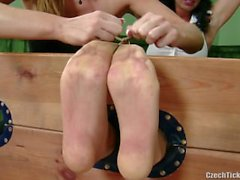 Sandra Nero is Foot Tickled