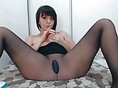 Pantyhose camshow