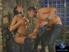 BDSM turns into a wild fucking session with Lisa De Marco