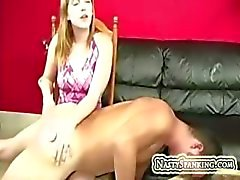 Amateur ccouple spanking huis vid