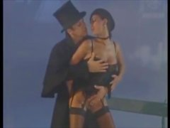Perverted Brit And Constible Ruin Sexy Chick