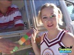Cheerleader Cindi Loo