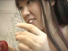 REMI and MIA condom kiss