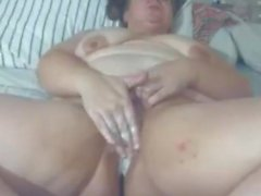 WBBw camming fat woman 34x234 cum