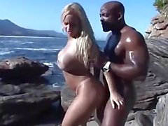 Cinthia Santos Fucked Hard on the Beach
