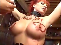 Kylie Ireland e Lauren Fenice threesome anale di BDSM
