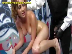 Gangbang Party For Blonde