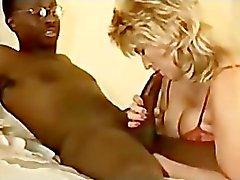 mature couger has interracial sex