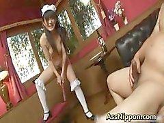 Super horny Japanese babes fucking