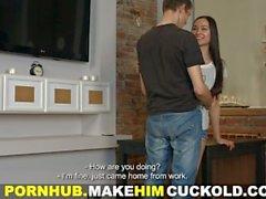 Merkki Häntä Cuckold - Oops olet Cuckold laitoksen kanssa