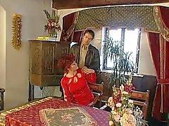 Le nonne Fica Pelosa è aperto al suo giovane Amante degli