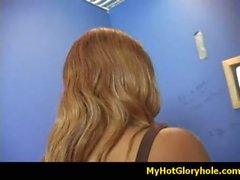Interracial gloryhole amazing blowjob video 20