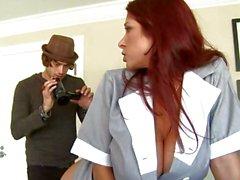 Arousing di Tiffany Mynx ottiene il suo bottino grosso sulla camma