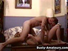 Busty amateur Summy getting fucked by her boyfriend