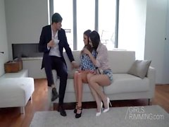 The Playboy - Anal Threesome - GIRLSRIMMING - Arwen Gold