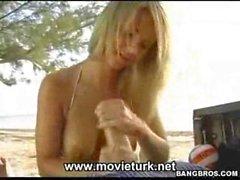 Hot Blonde Tease