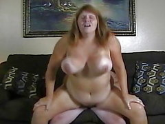 Amateur couple big boobs wife fuck on cam.