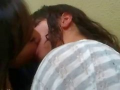 Hot sexy girls kissing