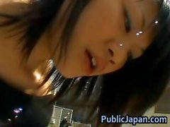 Kinky and cute Asian chick