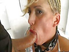 Hot Jenny One suffering in bondage scene