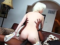 Blonde slut railed by bbc