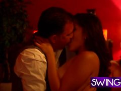 Swingers doing the hottest orgy ever