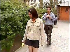 Koreaanse student neukt westerse lullen -1