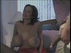 Sexy MILF gets her big tits and mouth fucked